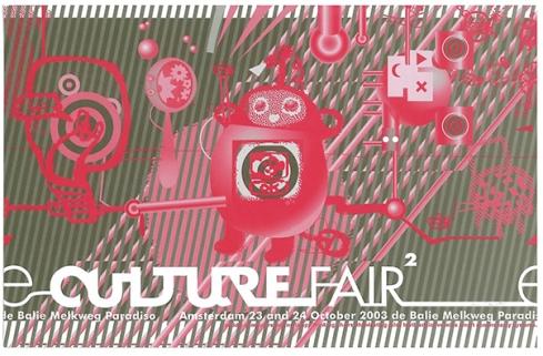 flyer e-culture fair